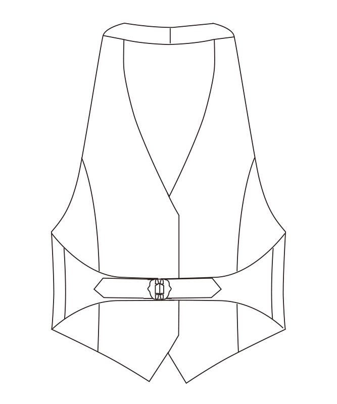 カマーベスト[女子][チトセ製品] AS8066