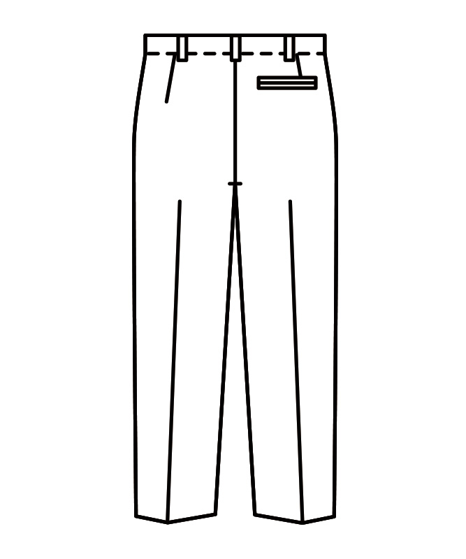 スラックスメンズ(ツータック)[住商モンブラン製品] RT7811-2