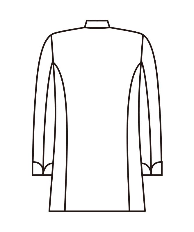 シェフコート長袖[KAZEN製品] APK2055
