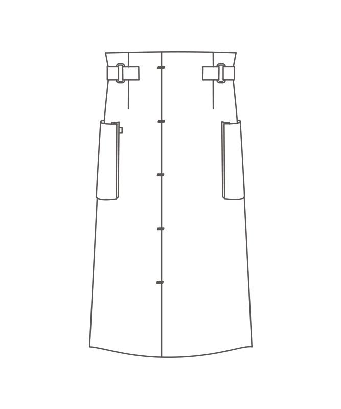 サロンエプロン[男女兼用][住商モンブラン製品] BW5506
