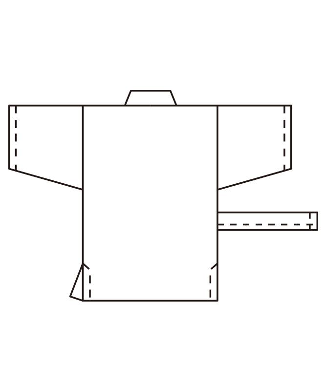 ハッピコート[男女兼用][KAZEN製品] APK302