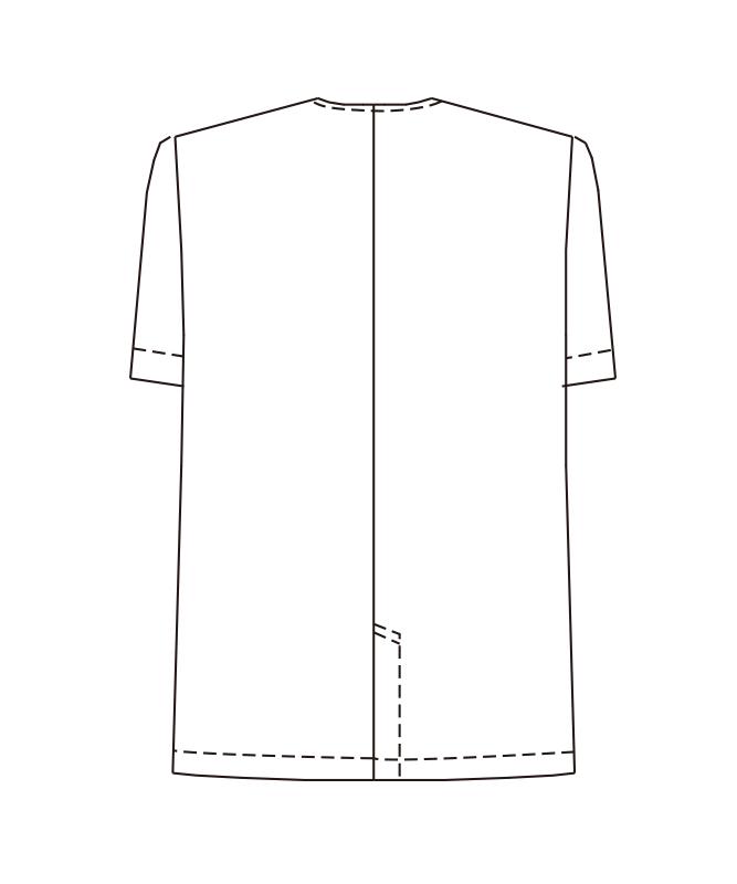 白衣半袖[女子][チトセ製品] AB6405