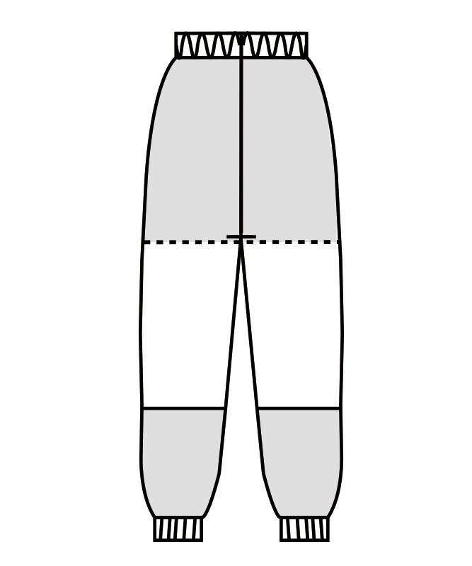 パンツ(総ゴム+ヒモ付)[男女兼用][住商モンブラン製品] SD7711