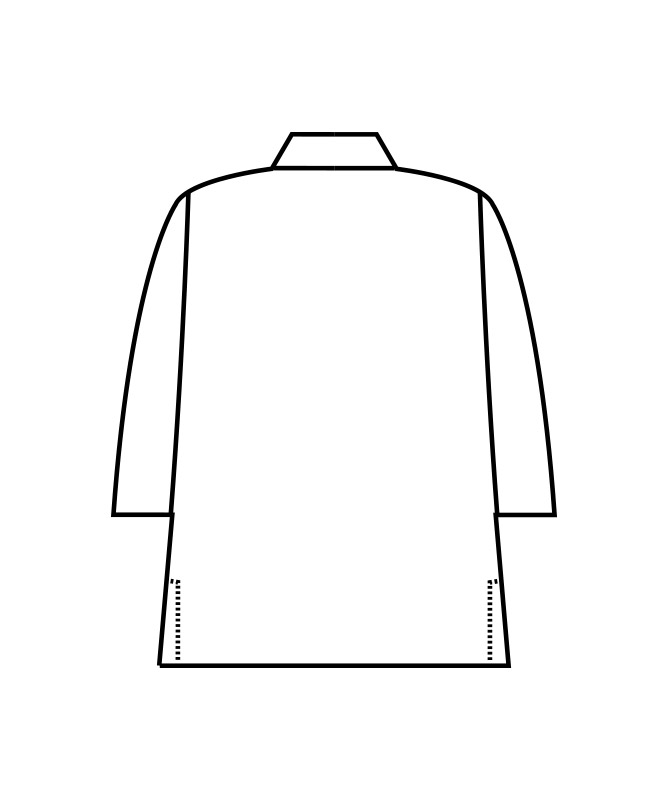 はっぴ七分袖[男女兼用][住商モンブラン製品] 3-52