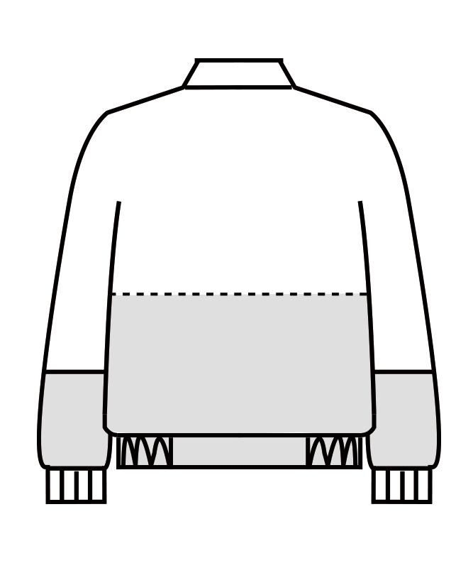 ジャンパー長袖[男女兼用][住商モンブラン製品] SD8701