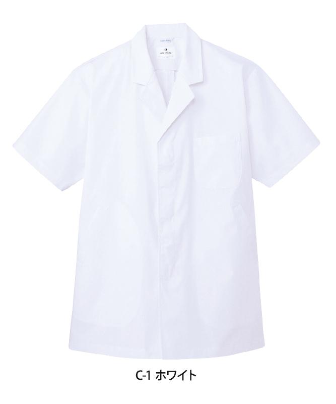 白衣半袖[男子][チトセ製品] AB6407