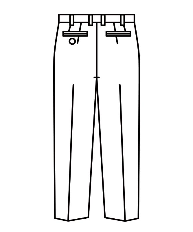 スラックスメンズ(ノータック)[住商モンブラン製品] 7-633