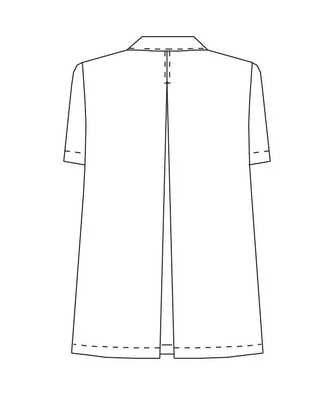 白衣半袖[女子][チトセ製品] AB6409