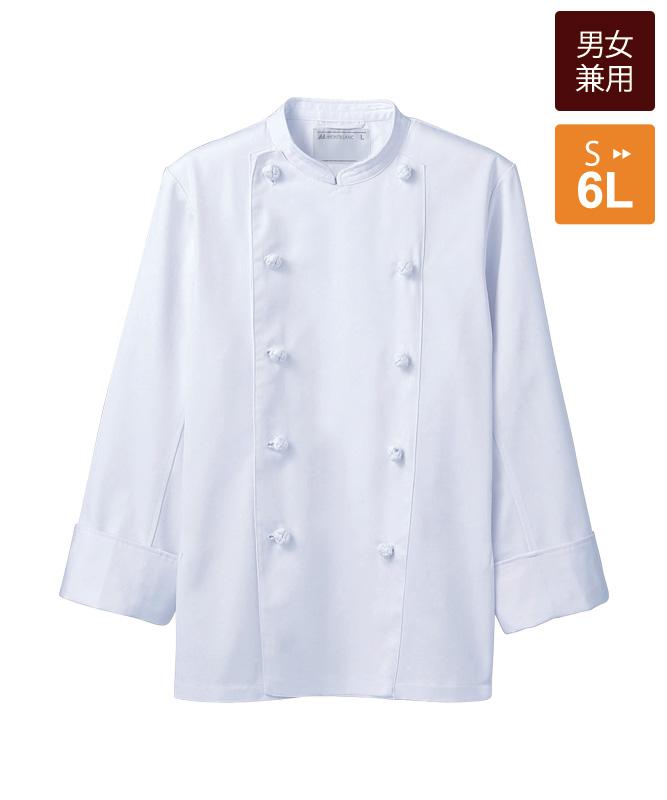 単糸ツイルコックコート長袖[男女兼用][住商モンブラン製品] TC6621-2