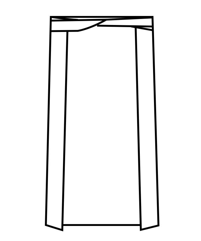 防水腰下エプロン[男女兼用][住商モンブラン製品] 5-461