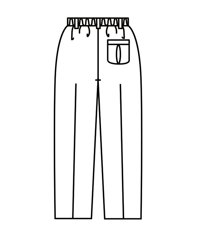 トレパンメンズ(総ゴム)[住商モンブラン製品] 7-653