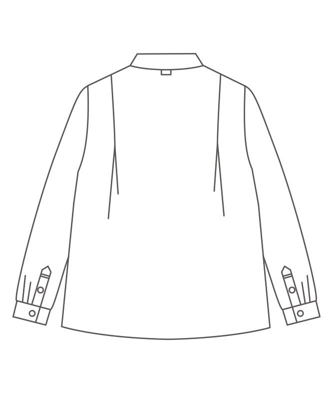 ブラウスレディス長袖[住商モンブラン製品] BW8002