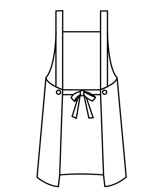 EVAエプロン[男女兼用][住商モンブラン製品] 5-48