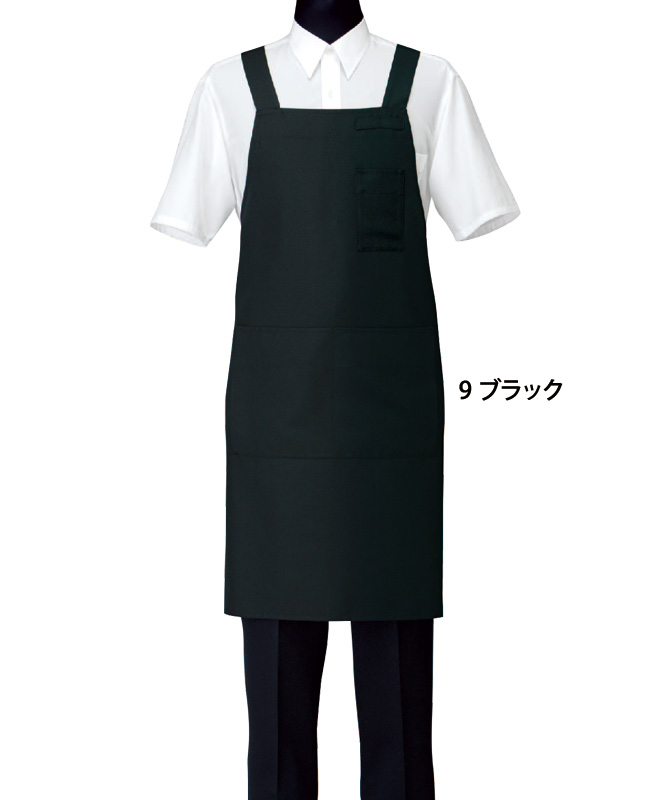 胸当エプロン[男女兼用][セブンユニフォーム製品] CT2577