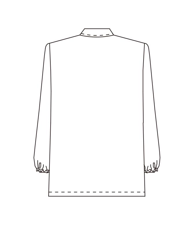 コート長袖[男女兼用][チトセ製品] AB7100