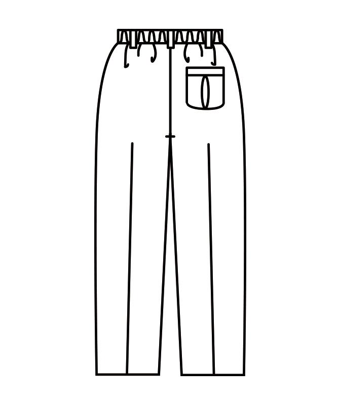 パンツメンズ(ツータック・半ゴム)[住商モンブラン製品] 7-65