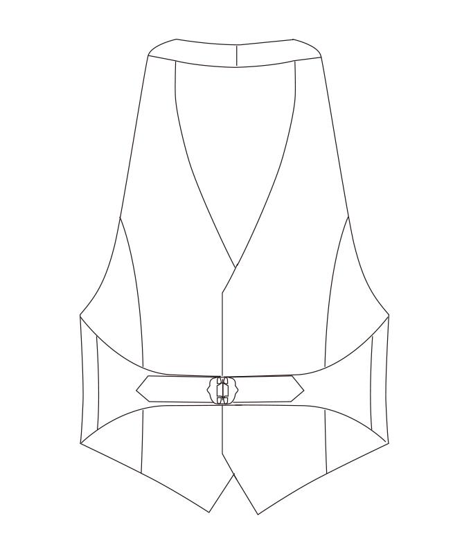 カマーベスト[男子][チトセ製品] AS8077