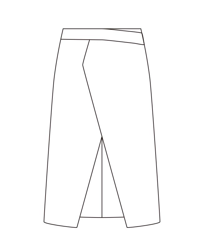 双糸ツイルエプロン[チトセ製品] DN6865