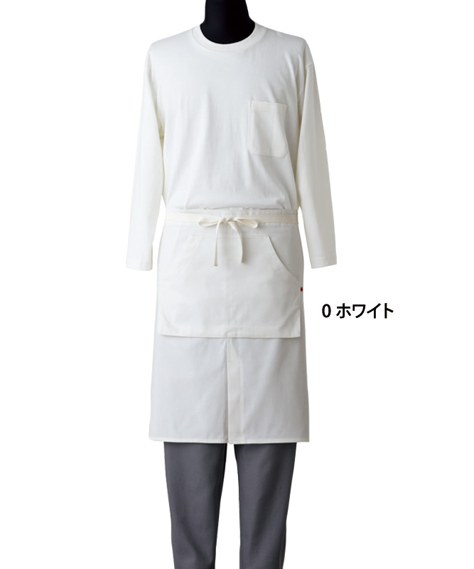腰下エプロン[男女兼用][セブンユニフォーム製品] QT7354