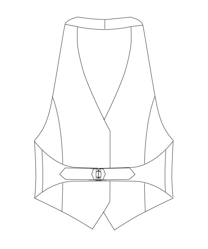 カマーベスト[女子][チトセ製品] AS8078