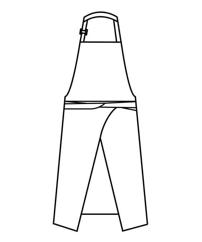 ウエザーエプロン[男女兼用][住商モンブラン製品] 5-63