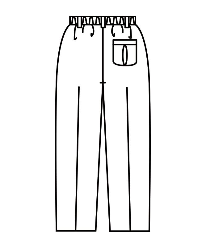 パンツメンズ(ツータック・半ゴム)[住商モンブラン製品] 7-669