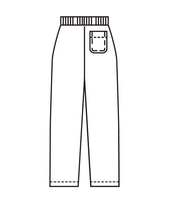 ストレッチツイルレディスパンツ[KAZEN製品] 821-9