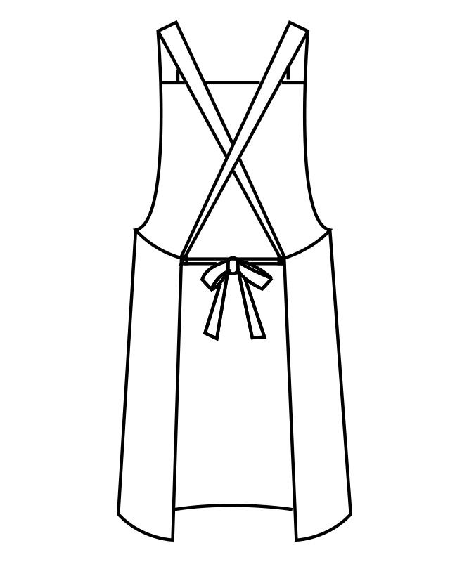 ウエザーエプロン[男女兼用][住商モンブラン製品] 5-68