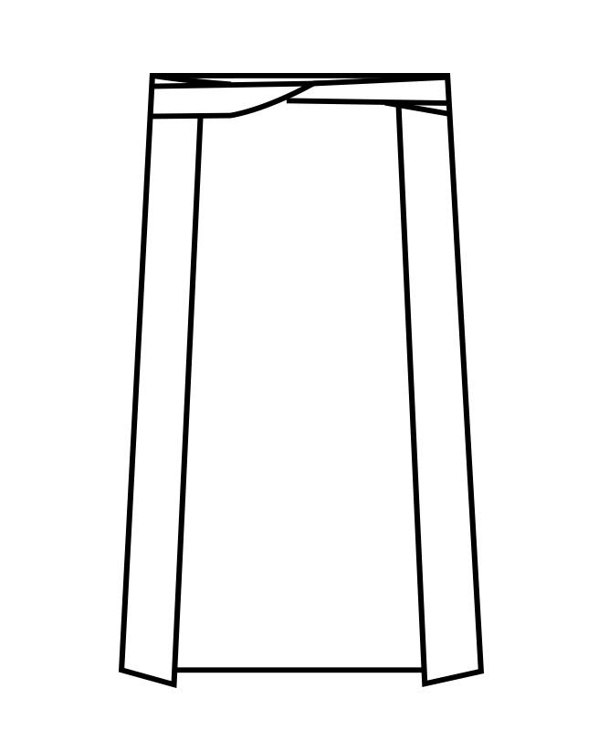 腰下前掛[男女兼用][住商モンブラン製品] 9-35