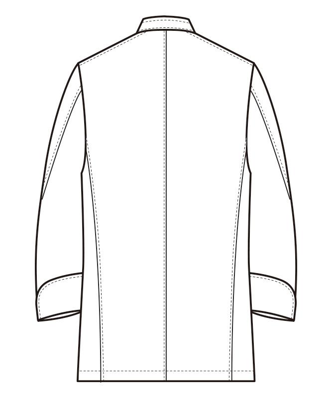 ナノコックコート長袖[男女兼用][セブンユニフォーム製品] BA1220