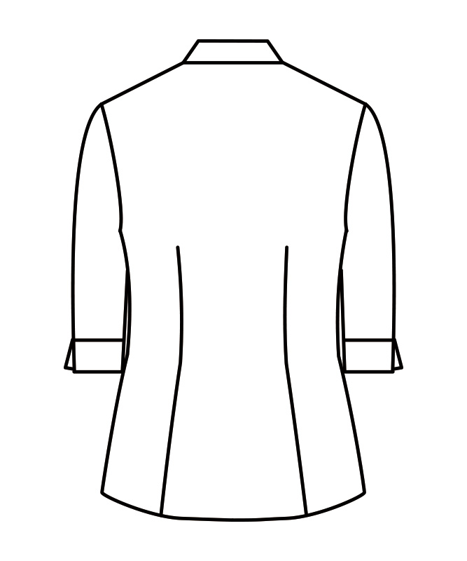ブラウスレディス七分袖(チェック)[住商モンブラン製品] WC2221
