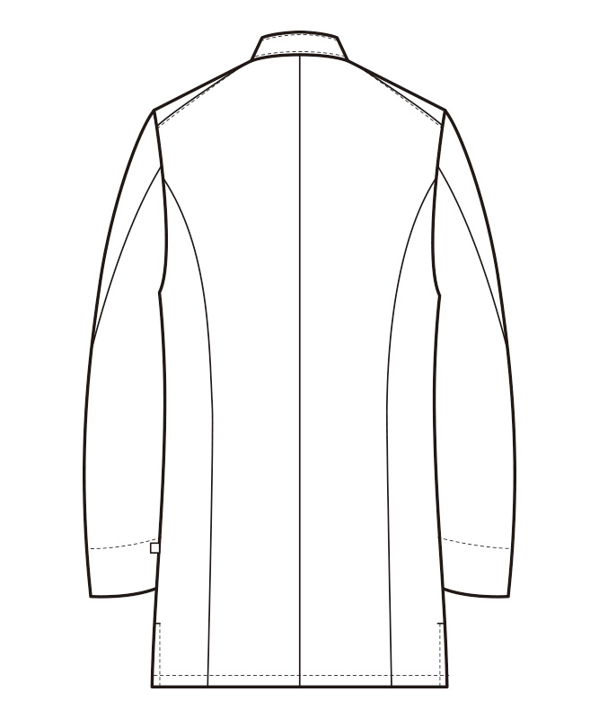 コックコート長袖[男性用][セブンユニフォーム製品] QA7359