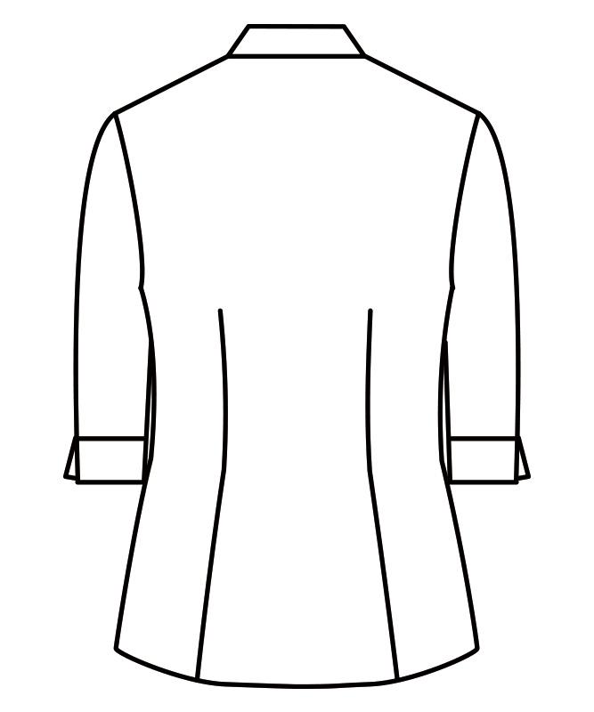 ブラウスレディス七分袖(チェック)[住商モンブラン製品] WC2231