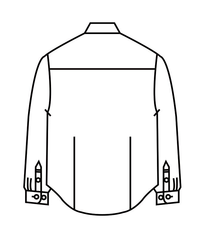 チェックシャツ長袖[男女兼用][住商モンブラン製品] WC2611