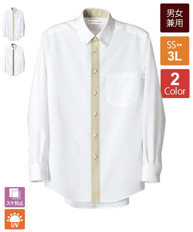 ボタンダウンシャツ長袖[男女兼用][セブンユニフォーム製品] CH1583