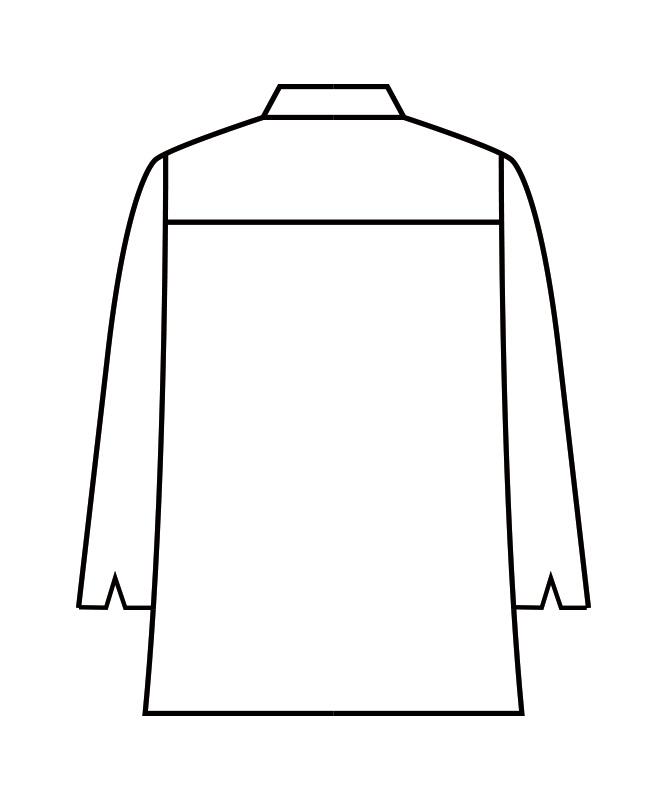 チェックシャツ七分袖[男女兼用][住商モンブラン製品] WC2621