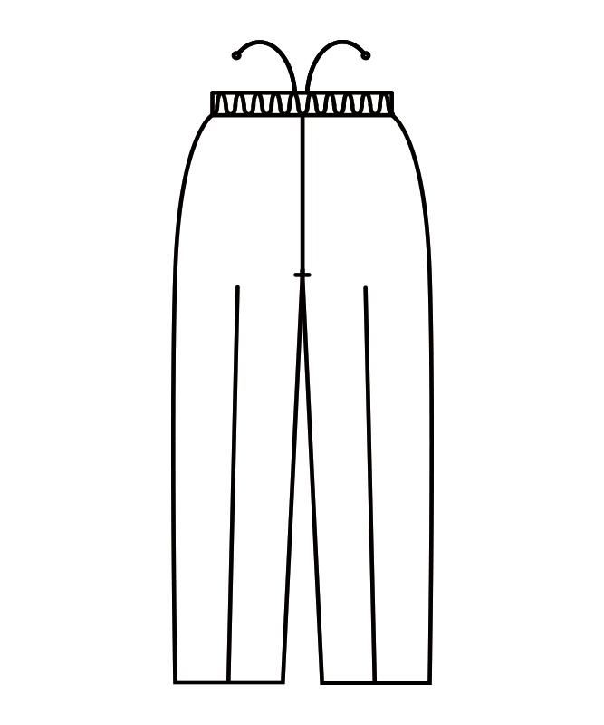イージーパンツ[男女兼用][住商モンブラン製品] 7-763