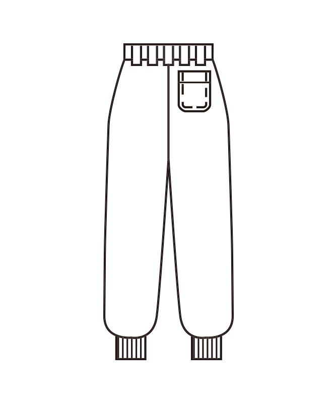 ホッピングパンツ[男女兼用][KAZEN製品] 831-10