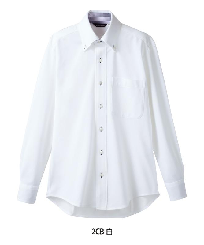 ニットシャツ長袖[男女兼用][住商モンブラン製品] ZK2711