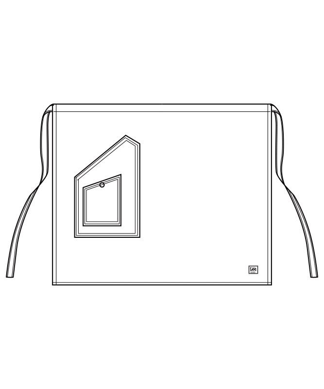 Leeミドルエプロン[男女兼用][ボンマックス製品] LCK79004