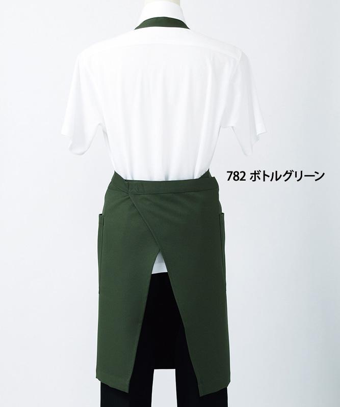 制電ギャバエプロン[男女兼用][住商モンブラン製品] 5-78