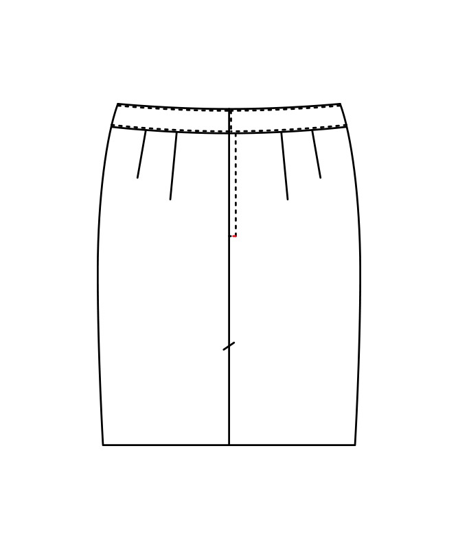 スカートレディス[住商モンブラン製品] BN7201-9