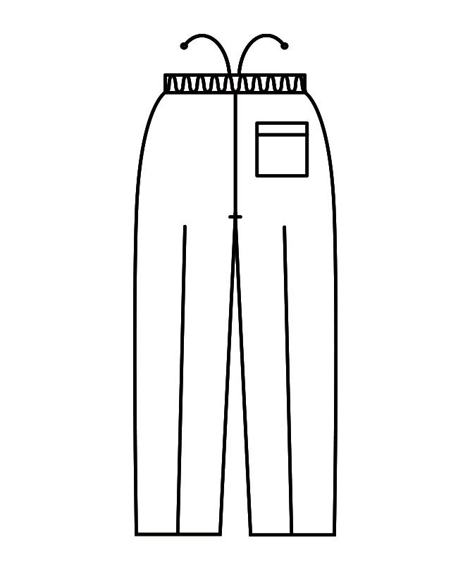 イージーパンツ[男女兼用][住商モンブラン製品] 7-831