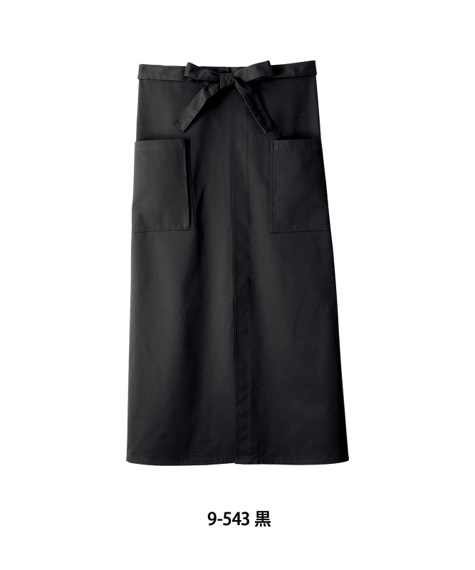 ロングエプロン[男女兼用][住商モンブラン製品] 9-54