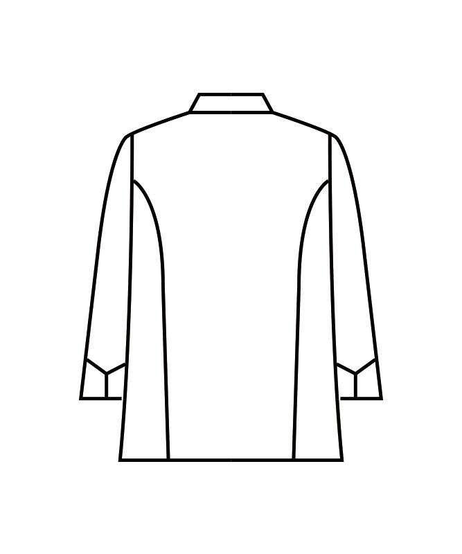 カツラギコックコート長袖[男女兼用][住商モンブラン製品] KS6621-2