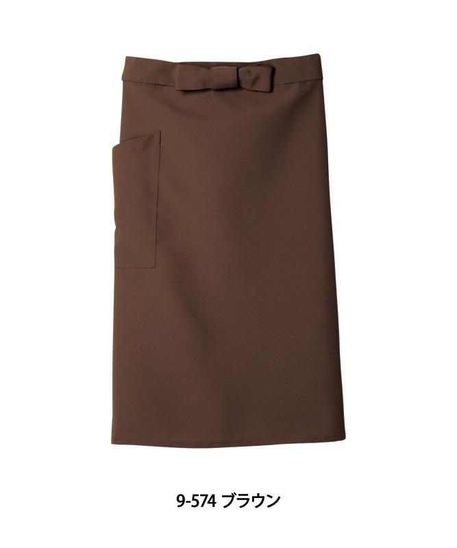 サロンエプロン中丈[男女兼用][住商モンブラン製品] 9-57