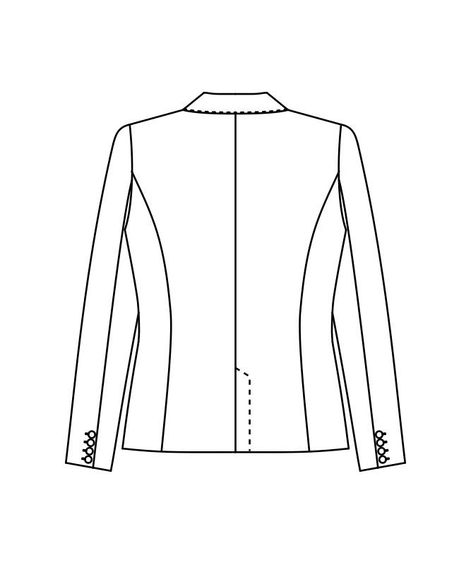 ジャケットレディス長袖[住商モンブラン製品] BP1001-9