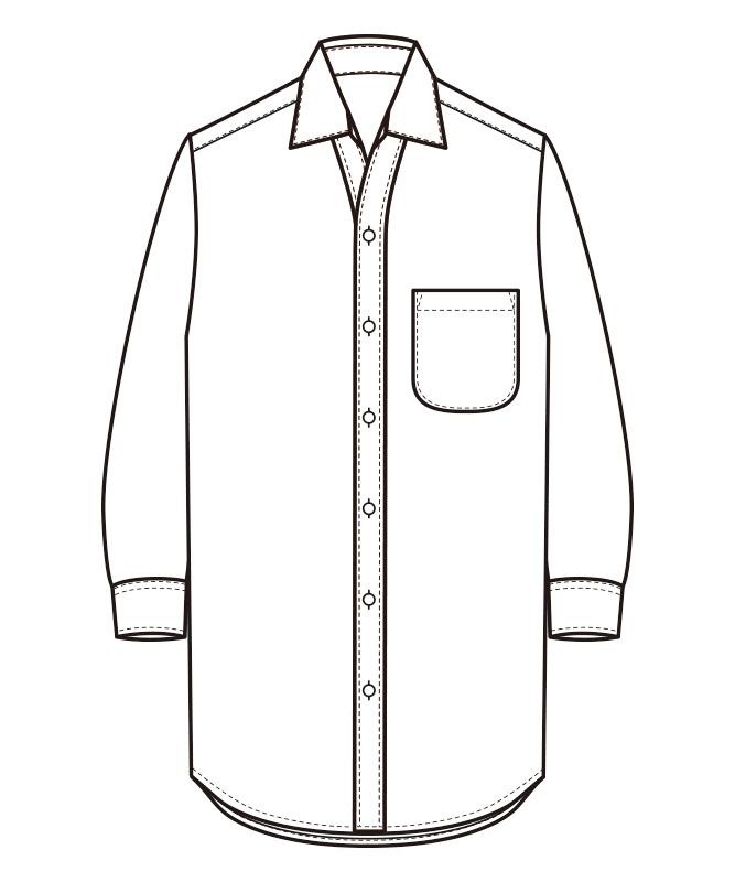 シャツ七分袖[男女兼用][セブンユニフォーム製品] CH4462