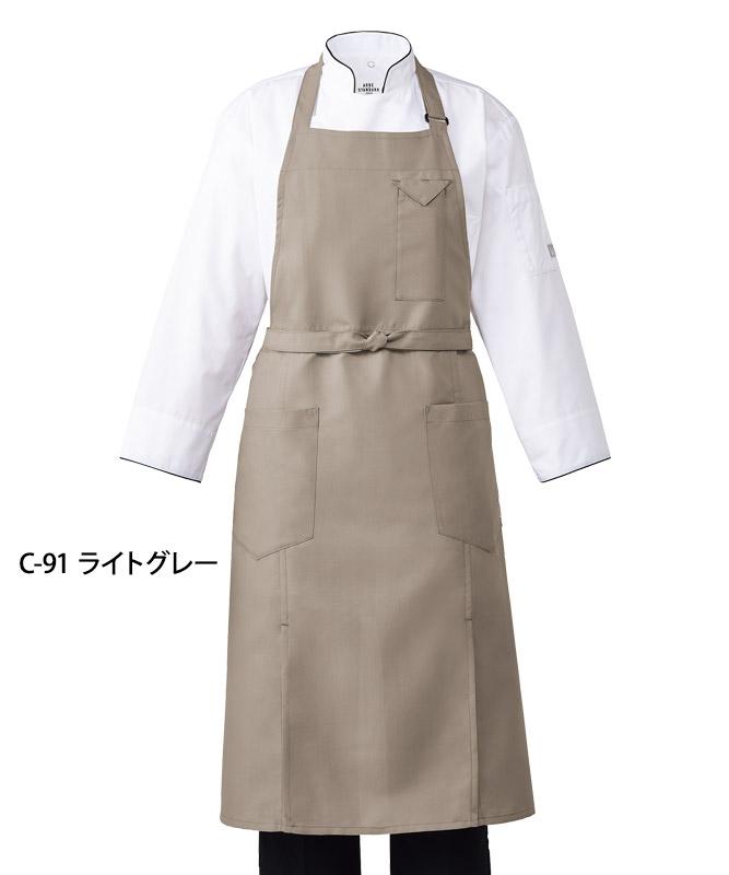 胸当てエプロン[チトセ製品] T8700