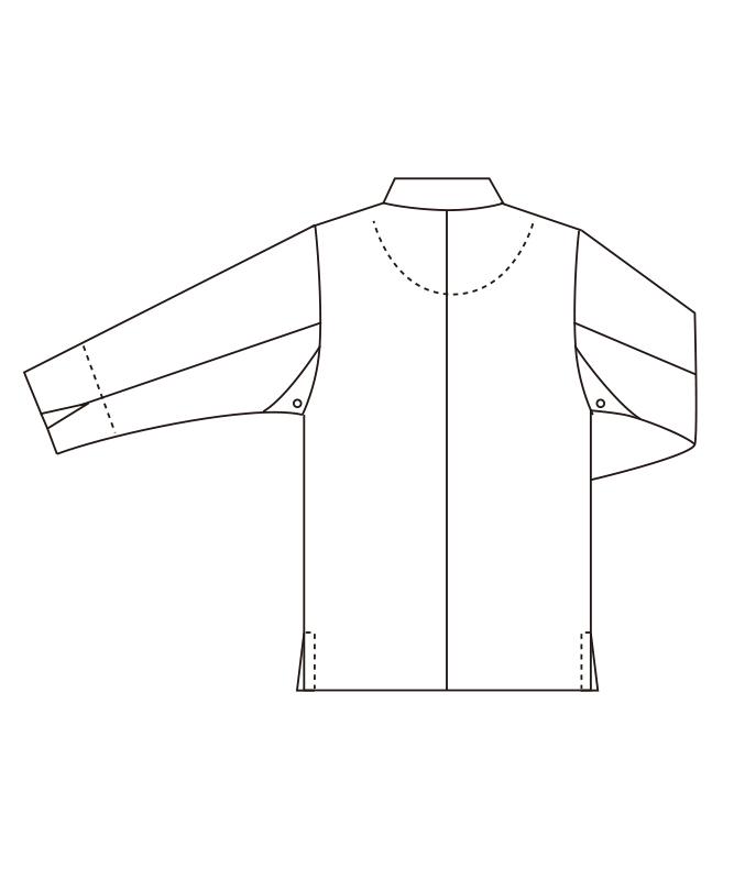 白衣[男女兼用][チトセ製品] DN8021